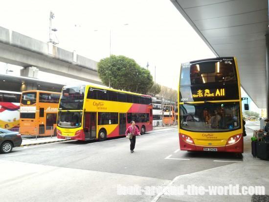 香港国際空港での8時間のトランジットで香港市内観光をしてみた