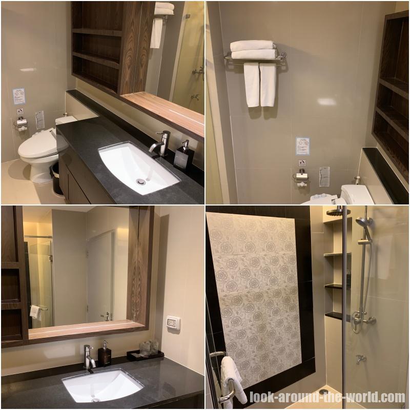アットマインド サービスドレジデンス パタヤのバスルーム